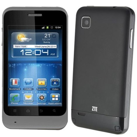 ZTE KIS, Android OS, Grey