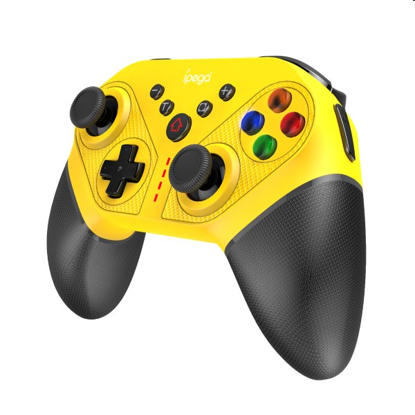 Bluetooth Gamepad iPega SW038C pre Nintendo Switch, yellow