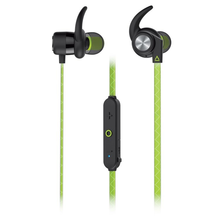 Creative Outlier Sports Bluetooth Headphones, Green