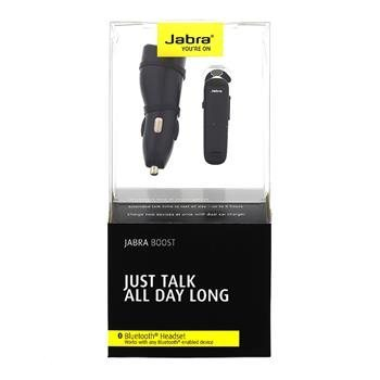 Jabra Boost - Bluetooth Headset, Black