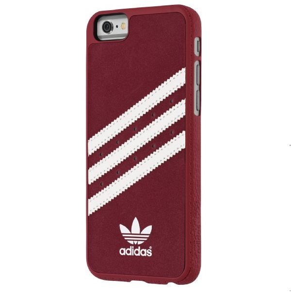 Puzdro Adidas Originals - Moulded pre Apple iPhone 6 Plus a Apple iPhone 6S Plus, Red/White