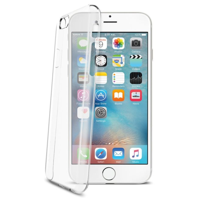 Puzdro Spigen Thin Fit pre Apple iPhone 6 a 6S, Crystal Clear