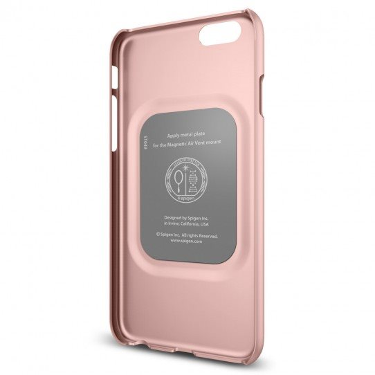 Puzdro Spigen Thin Fit pre Apple iPhone 6 a 6S, Rose Gold