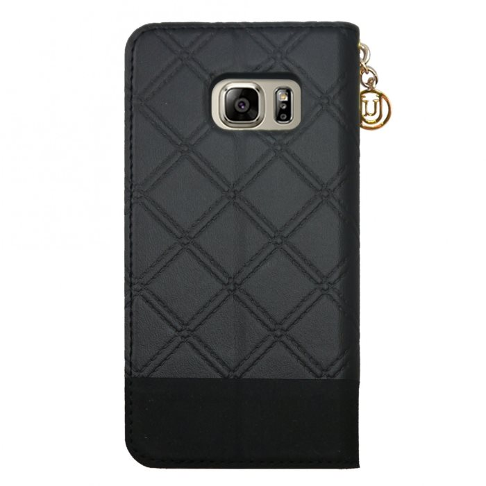 Puzdro Uunique 50:50 Classic Quilted pre Samsung Galaxy S7 - G930F, Black