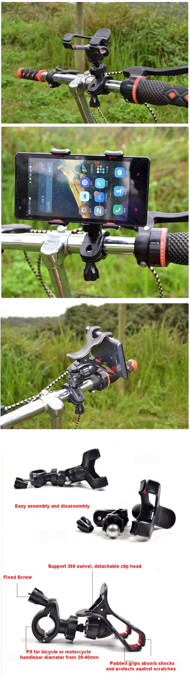 Biciklis tartó