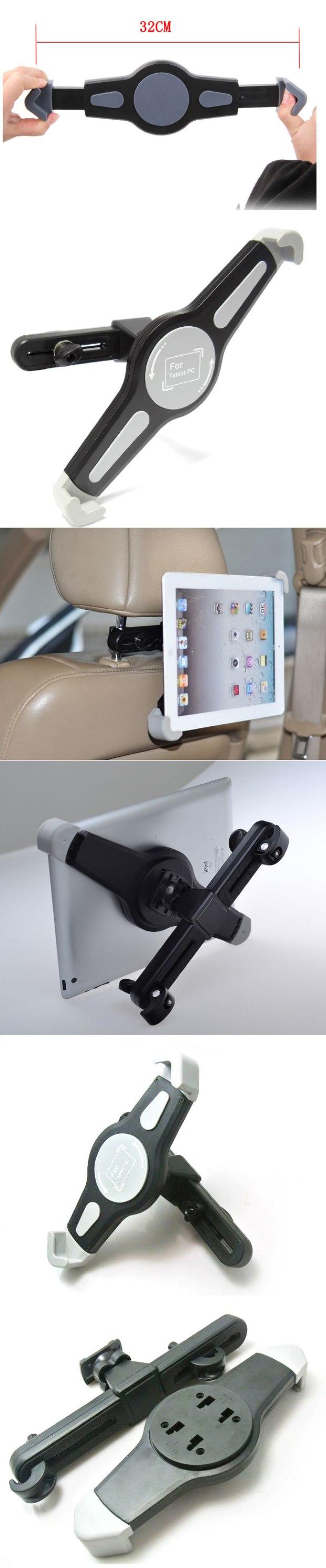 Držák do auta (uchycení na opěrku hlavy) pro Váš tablet: