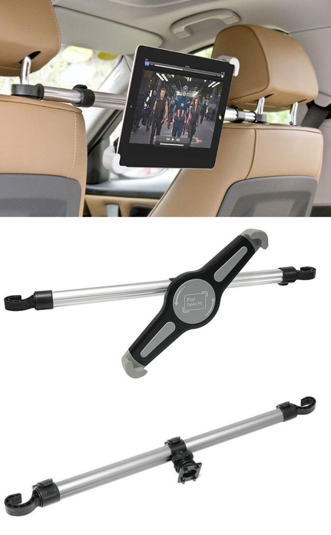 Držák do auta (uchycení na opěrky hlavy) pro Váš tablet: