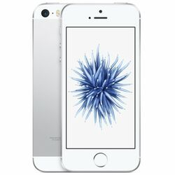 Apple iPhone SE, 64GB, Silver