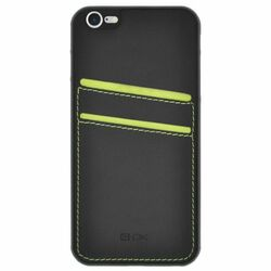4-OK Pocket Cover pre Apple iPhone 6 a 6S, Black
