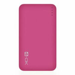 4-OK Power Bank 4.0 - 4000 mAh - Pink
