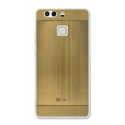 4-OK TPU METAL CASE FOR HUAWEI P9 COLOR GOLD