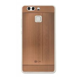 4-OK TPU METAL CASE FOR HUAWEI P9  COLOR ROSE GOLD