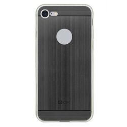 4-OK TPU METAL Case for iPhone 7 color black