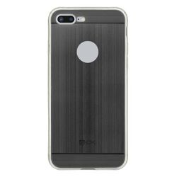 4-OK TPU METAL Case for iPhone 7 Plus color black