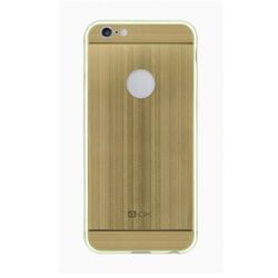 4-OK TPU METAL CASE pre Apple iPhone  6 a 6S, Oro