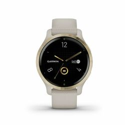 Garmin Venu 2S, light gold/light sand