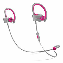Apple Beats PowerBeats 2 Wireless by DR.Dre - Bluetooth Headset, Pink/Grey