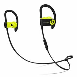 Apple Beats PowerBeats3 Wireless - Bluetooth Headset, Shock Yellow (MNN02ZM/A)