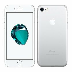 Apple iPhone 7, 128GB | Silver, Refurbished - záruka 12 mesiacov