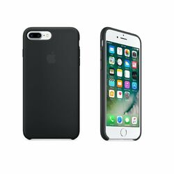 Apple iPhone 7 Plus Silikónové puzdro (Black) MMQR2ZM/A