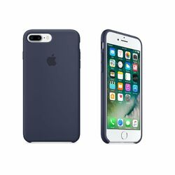 Apple iPhone 7 Plus Silikónové puzdro (Midnight Blue) MMQU2ZM/A