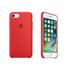 Apple iPhone 7 Silikónové puzdro (Red) MMWN2ZM/A