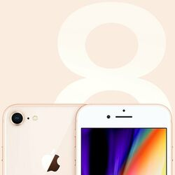 Apple iPhone 8, 256GB, Gold