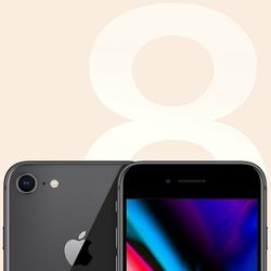 Apple iPhone 8, 256GB, Space Gray