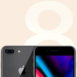 Apple iPhone 8 Plus, 256GB, Space Gray