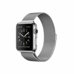 Apple Watch 42mm Stainless Steel Case with Milanese Loop MJ3Y2HC/A