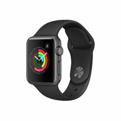 Apple Watch Series 2, 42mm Space Grey Aluminium Case with Black Sport Band MP062CN/A