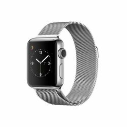 Apple Watch Series 2, 42mm Stainless Steel Case with Silver Milanese Loop MNPU2CN/A