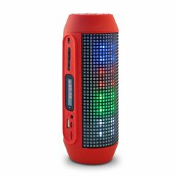 Bluetooth reproduktor Q600 Extra Bass, Red