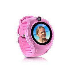 Carneo GUARDKID+ - Smart hodinky s GPS pre deti, Pink