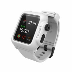 Catalyst Waterproof ochranné puzdro vodeodolné pre Apple Watch 2 38mm, Alpine White
