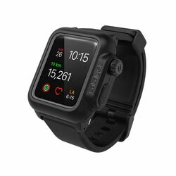 Catalyst Waterproof ochranné puzdro vodeodolné pre Apple Watch 2 38mm, Stealth Black