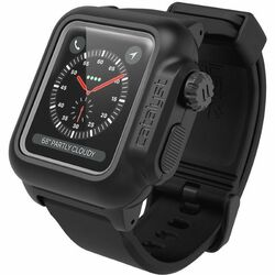 Catalyst Waterproof ochranné puzdro vodeodolné pre Apple Watch 3 42mm, Stealth Black