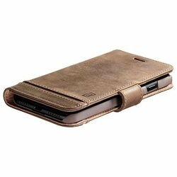 CellularLine premium leather booklet case Supreme for Apple iPhone 12 Pro Max, brown