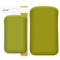 CELLUX Microfibre Pouch - L, green