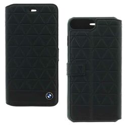 Diárové puzdro BMW Hexagon pre Apple iPhone 7 Plus, Black