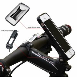 Držiak na bicykel BestMount Premium pre Apple iPhone 4, Apple iPhone 4S