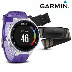 Garmin Forerunner 230 HR, White Purple, EU