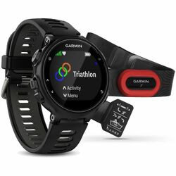 Garmin FORERUNNER 735XT, Black & Gray, Run Bundle