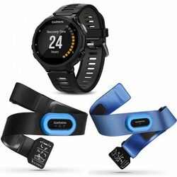 Garmin FORERUNNER 735XT, BlackGray, Tri Bundle