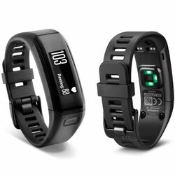 Garmin VivoSmart HR, Black, (Ve¾ký remienok)