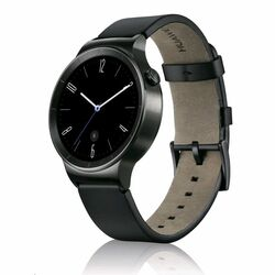 Huawei Watch, Black Leather
