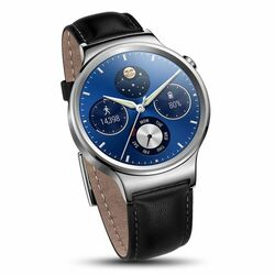 Huawei Watch W1, Stainless Steel, Black