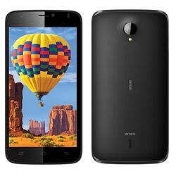 Intex Aqua I14, Dual Sim, Black