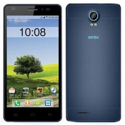 Intex Aqua Life 2, Dual SIM, Black/Blue