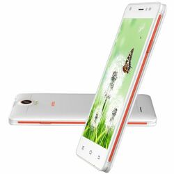 Intex Aqua Life 2, Dual SIM, White/Orange